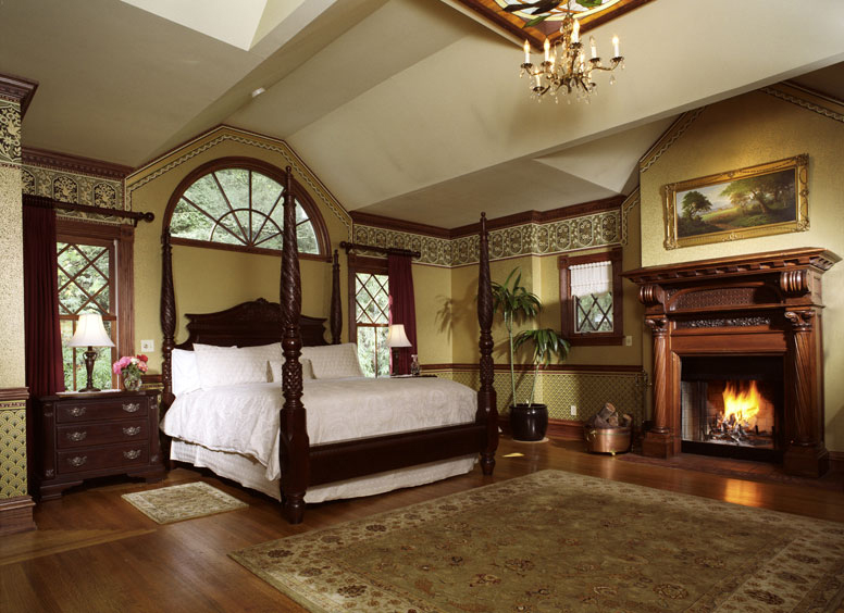The Master Suite At The Pink Mansion